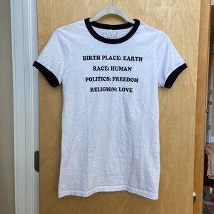Half United Statement Equality T-Shirt